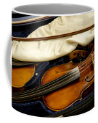 Vintage Fiddle In The Case Coffee Mug