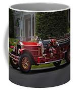 Vintage Firetruck Coffee Mug by Susan Candelario