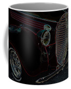 Vintage Ford Neon Art Grill Coffee Mug