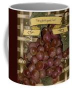 Vintage Fruit Of The Vine Coffee Mug