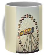 Vintage Funtown Ferris Wheel Coffee Mug