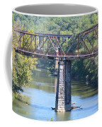 Vintage Garden City Bridge Coffee Mug