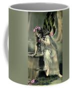 Vintage Garden Nymph Coffee Mug