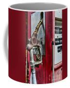 Vintage Gas Pump Coffee Mug