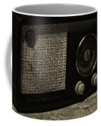 Vintage Ge Radio Coffee Mug