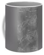 Vintage Glass Mold Patent Coffee Mug