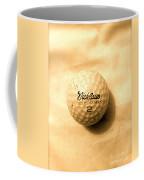Vintage Golf Ball Coffee Mug