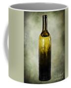 Vintage Green Glass Bottle Coffee Mug