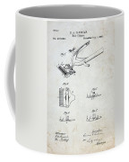 Vintage Hair Clippers Patent Coffee Mug
