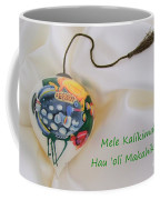 Vintage Hawaiian Christmas Bulb Coffee Mug