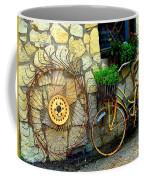 Antique Store Hay Rake And Bicycle Coffee Mug