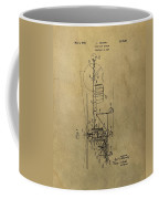 Vintage Helicopter Patent Coffee Mug