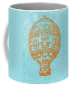 Vintage Hot Air Balloon Coffee Mug