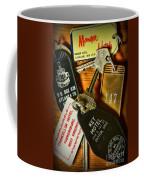 Vintage Hotel Keys Coffee Mug