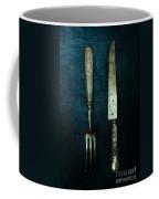 Vintage In Blue Coffee Mug