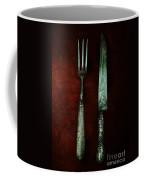 Vintage In Red Coffee Mug