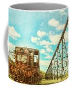 Vintage Industrial Postcard Coffee Mug