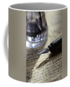 Vintage Ink Pen Coffee Mug