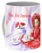 Vintage Invitation Coffee Mug