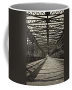 Vintage Iron Truss Bridge Coffee Mug