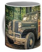 Vintage Jeep Station Wagon Coffee Mug