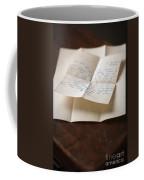 Vintage Letter Coffee Mug