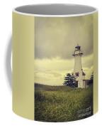 Vintage Lighthouse Pei Coffee Mug by Edward Fielding