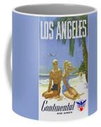Vintage Los Angeles Travel Poster Coffee Mug