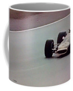 Vintage Lotus Racer In Action Coffee Mug