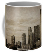 Vintage Manhattan Skyline Coffee Mug