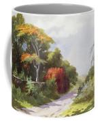 Vintage Manoa Valley Coffee Mug