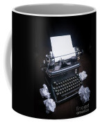 Vintage Manual Typewriter Coffee Mug