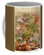 Vintage Map Of Yellowstone National Park Coffee Mug