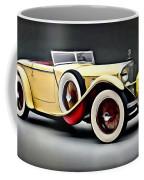 Vintage Mercedes Convertible Coffee Mug
