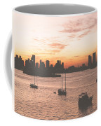 Vintage Miami Skyline Coffee Mug