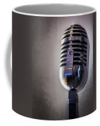 Vintage Microphone 2 Coffee Mug