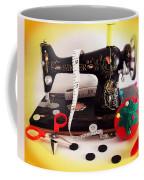 Vintage Mini Sewing Machine Coffee Mug