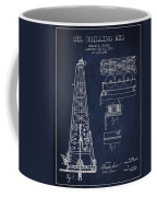 Vintage Oil Drilling Rig Patent From 1916 Coffee Mug