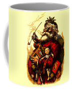 Vintage Original Coca Cola Red Santa Claus Poster Coffee Mug