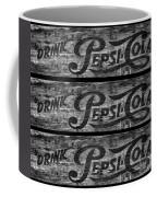 Vintage Pepsi Boxes Coffee Mug