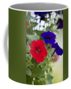 Vintage Petunia Flowers Coffee Mug