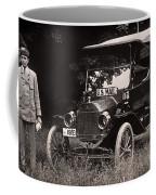 Vintage Photo Of Rural Mail Carrier - 1914 Coffee Mug