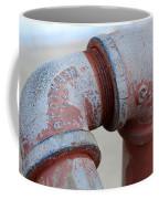 Vintage Pipe Recycled  Coffee Mug