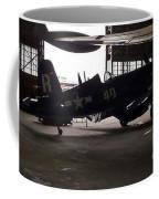 Vintage Planes Silhouette Coffee Mug