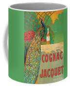Vintage Poster Advertising Cognac Coffee Mug by Camille Bouchet