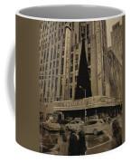 Vintage Radio City Music Hall Coffee Mug by Dan Sproul