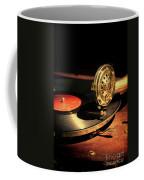 Vintage Record Player Coffee Mug