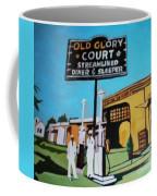Vintage Route 66 Diner Sleeper Coffee Mug