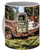 Vintage Rusty Old Truck 1940 Coffee Mug
