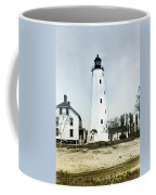 Vintage Sandy Hook Lighthouse Coffee Mug